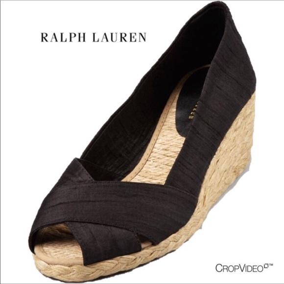 e3d98a1403b Lauren Ralph Lauren Shoes - ⚠️CLOSET CLOSING Ralph Lauren• Cecilia brown  wedge